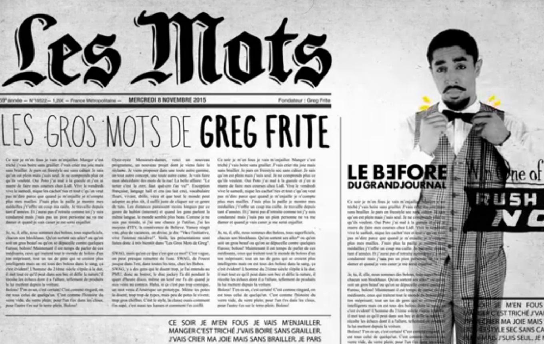 Les Gros Mots de Greg - <p>                                                   Un dictionnaire dans la poche, des gros mots plein la bouche : voici Greg Frite ! </p>