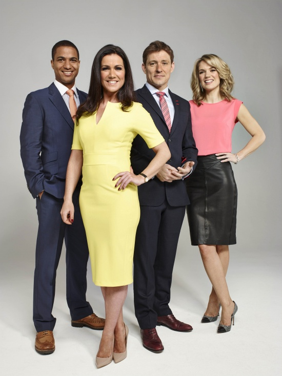 Good Morning Britain - <p>                                  Broadcasting live from London Television Centre on London's Southbank, Good Morning Britain brings the stories that the nation is waking up to every weekday morning; presented by Susanna Reid, Ben Shephard, Charlotte Hawkins and Sean Fletcher from 6am-8.30am. </p>